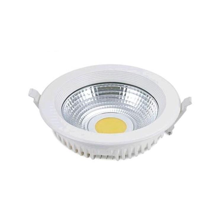 Faretto downlight  COB LED da incasso 25W 2200 lumen, 4200K