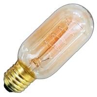 Lampadina decorativa tubolare E27 40W 120lm 2700K