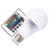 Lampadina LED Standard RGB multicolore