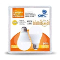 Scatola da 5 Pack 2 Lampadine LED standard E27 10W 806lm 3000K