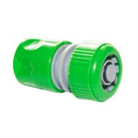 """Raccordo rapido con funzione stop per tubi in PVC  Ø1/2"""""""