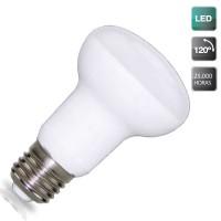 Lampadine LED riflettore 450lm R63 6W E27 3000K Luce calda