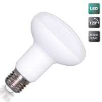 Lampadine riflettore LED R80 E27 900LM 9W 3000K 120º