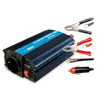 12V a 220V auto power inverter/converter 50 Hz. 300W.