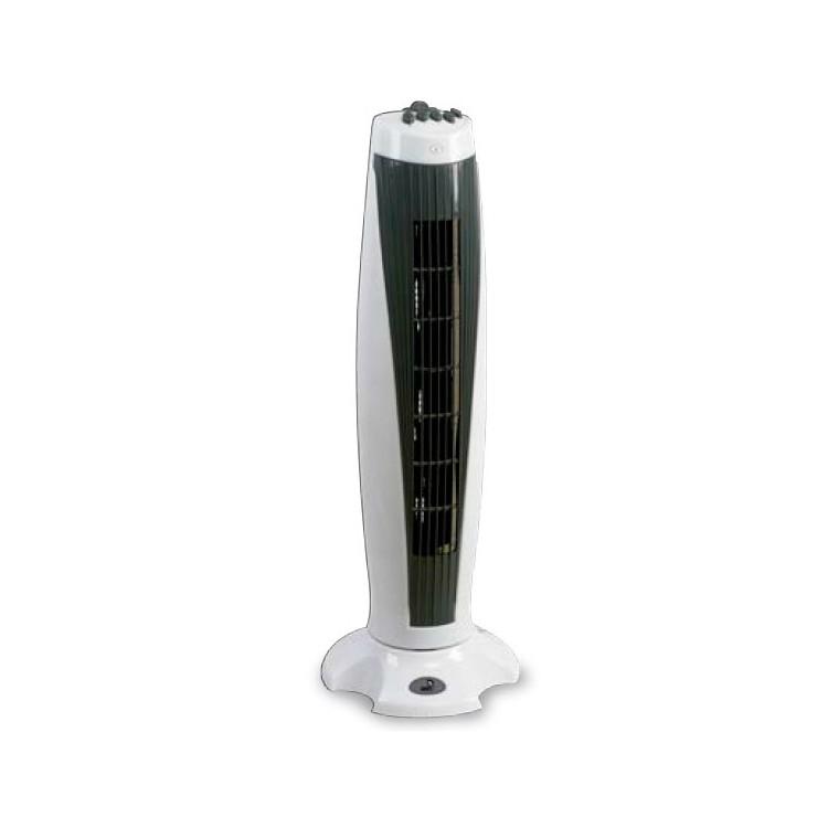 Ventilatore verticale a torre con diffusore girevole 50W