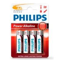 Scatola da 12 blister da 4 pile LR6 Philips AA - batterie alcaline