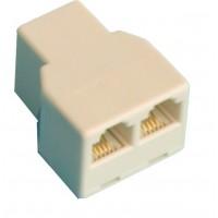 Distributore modulare adattatore doppia, p 6/4 c, 2 femmina femmina