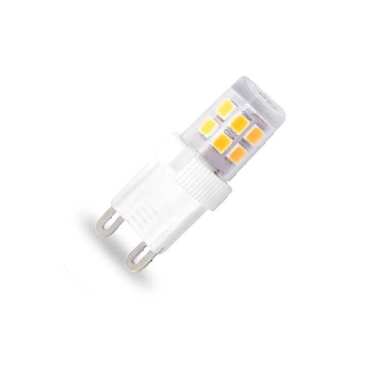 Lampadine led mini g9 2w 210lm 3000k 300 for Lampadine g9 led