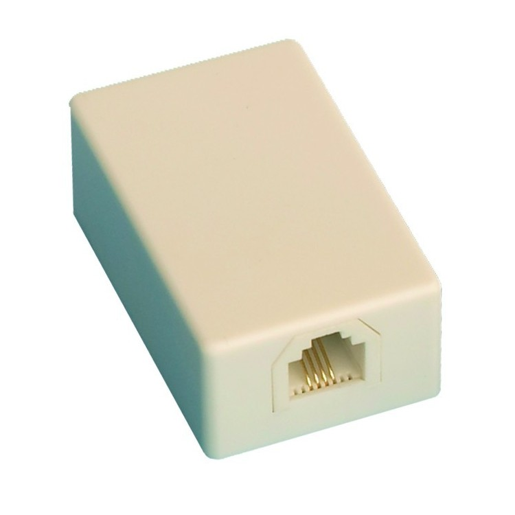 Presa telefonica modulare da superficie, P6 / 4C