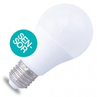 Lampadina LED E27 con sensore di presenza 10W 806lm 6000K 160º