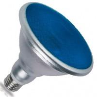 Lampadina LED E27 PAR38 18W 700lm con luce azzura