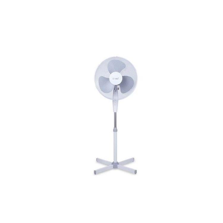 Ventilatore verticale oscillante 55W Ø43cm 3 velocità