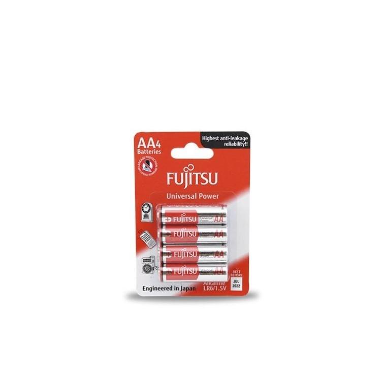 Scatola da 10 confezioni da 4 unità di pile alcaline Fujitsu LR6 / AA