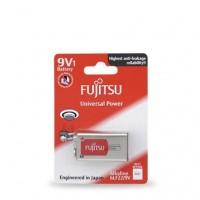 Scatola da 10 pile alcaline Fujitsu 9V - Blister 1 batteria