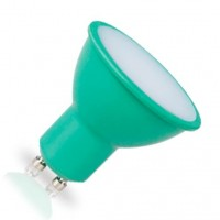 Lampadina LED GU10 decorativa verde 4W