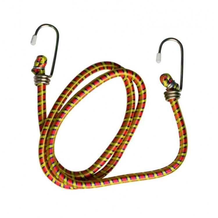 Cinghia elastica con ganci, 8mm x 80cm
