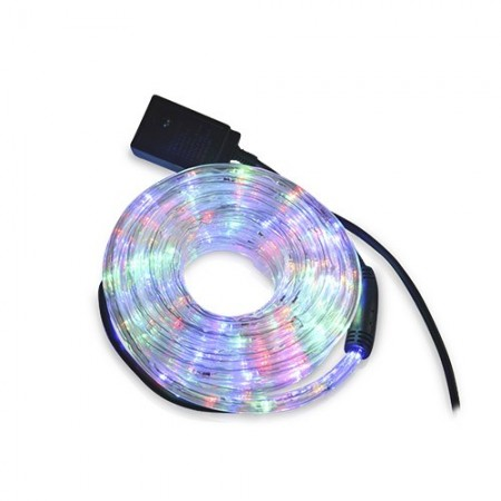 Tubo luminoso flessibile LED RGB 10m. IP44