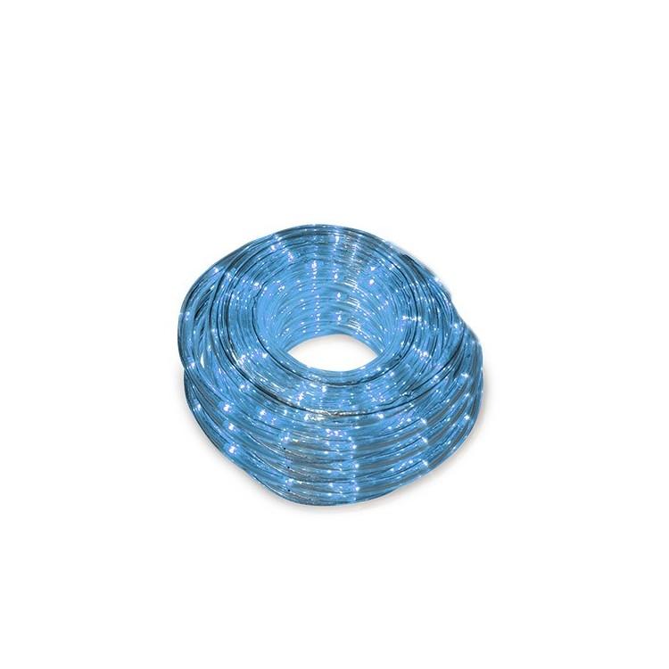Tubo luminoso flessibile led blu 48m ip44 for Tubo flessibile a led