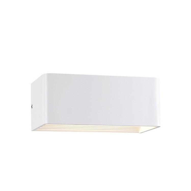 Applique led smd bianco opaco 6w 3000k uso esterno - Applique led esterno ...