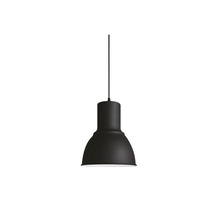 Lampada a sospensione Faro 1M metallo nero