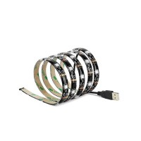 Striscia LED USB 1M per TV 7.2W/M IP44 2700K-3000K