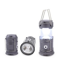 Torcia da campeggio LED compatta 1W+1.5W