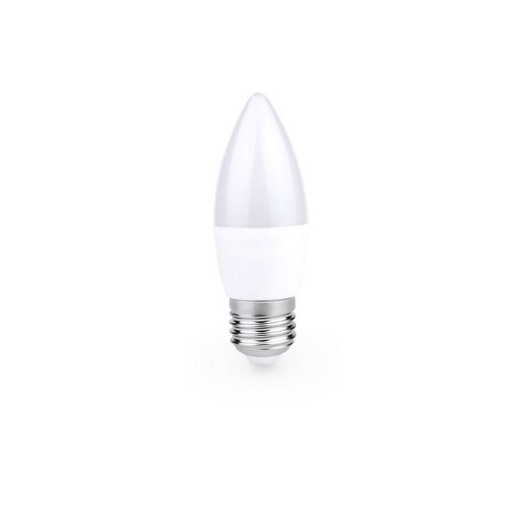 Lampada candela LED 6W E27 6000K