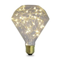Lampada Starlight decorativa Diamond LED 2W E27 3000K