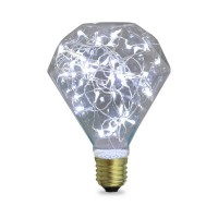 Lampada Starlight decorativa Diamond LED 2W E27 6000K