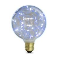 Lampada Starlight decorativa globo G125 LED 2W E27 6000K