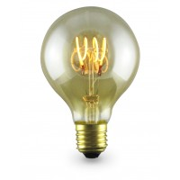 Lampada Decoloop decorativa globo G80 LED 4W E27 2000K