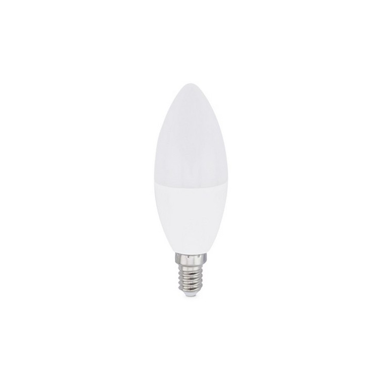Lampadina candela LED 8W E14 6000K