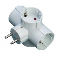 Base multipla - quattro output adattatore sucko 2 p con lato TT
