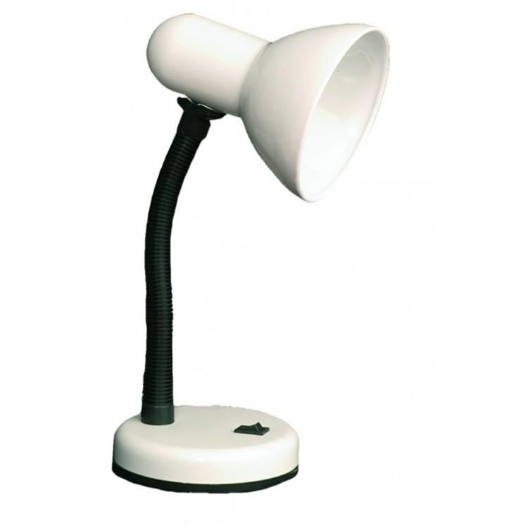 Lampada flessibile da scrivania color bianco - Tubo