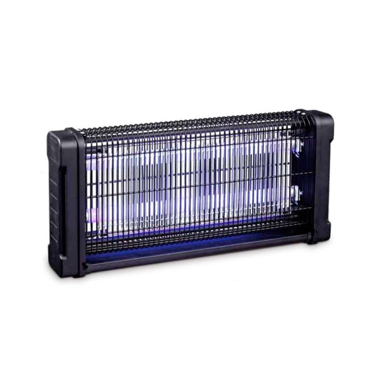 Zanzariera elettrica ammazzamosche 2 x 15W, 230V 50Hz, area di copertura 100m2