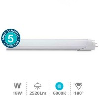 Tubo LED T8 120cm 18W...