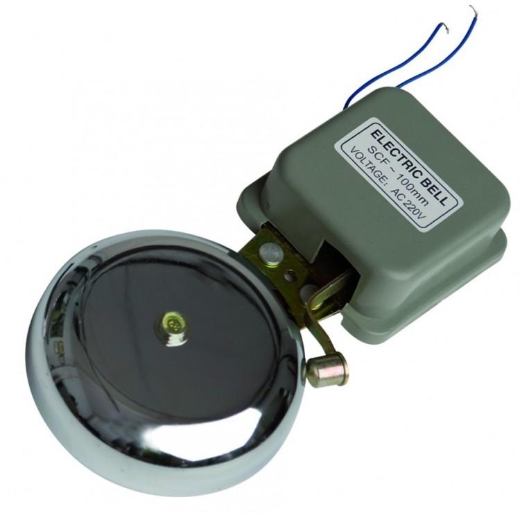 Campanello elettrico a martello, 230V. Ø10cm. Forte suono 87dB