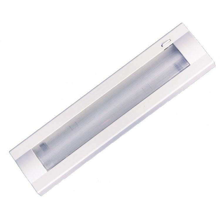 Lampada sottopensile con 1 tubo fluorescente T5 8W 320mm 6400K