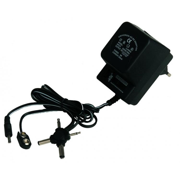 Alimentatore universale di corrente AC/DC. 1000mAh.