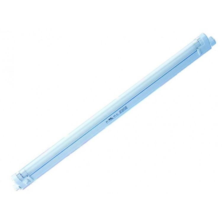 Lampada sottopensile con 1 tubo fluorescente T5 12W 420mm 6400K